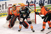 Spielszene Black Wings vs Graz