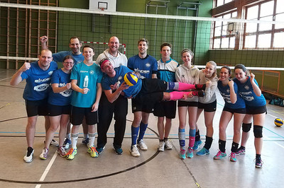 Das Gallspacher Volleyball Mixed Team