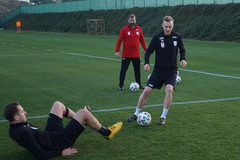 Stefan Haudum beim Training in Spanien