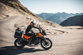 Die neue KTM Adventure in action