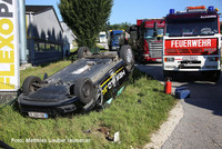 Unfallstelle inAllhaming