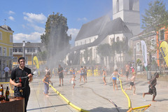 Splashmob in Gallneukirchen